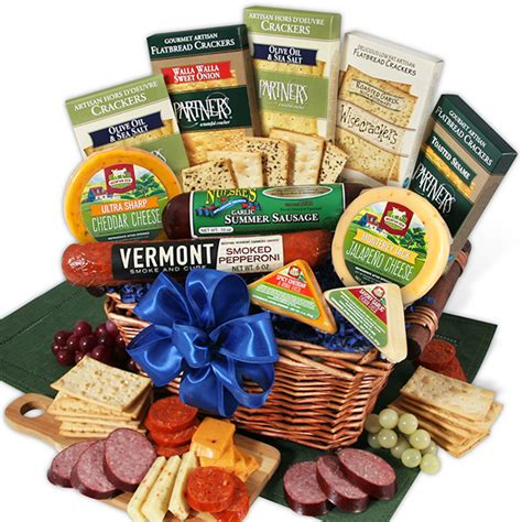 meat and cheese gift basket gift baskets meat and cheese gift ftempo