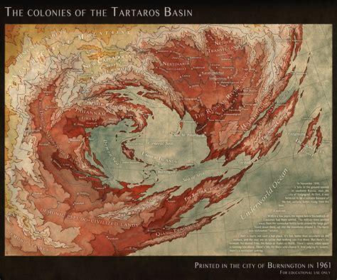 tartaros basin  map  hell  lingonb  deviantart