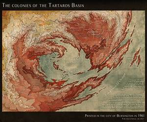 The Tartaros Basin, a map of hell by LingonB on DeviantArt
