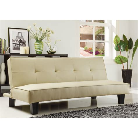 Mini Couches For by Homelegance Tufted Mini Sofa Bed Lounger Futons At Hayneedle