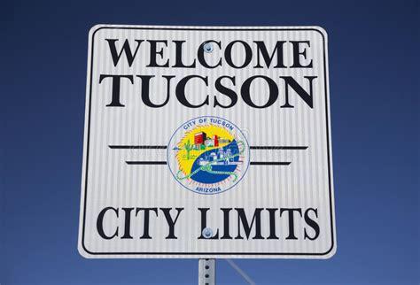 Arizona Tucson Usa April 11 2015 Welcome To Tucson