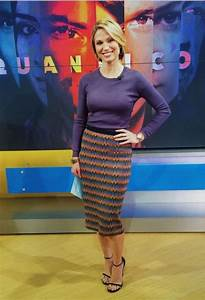 Amy Robach in a TSE sweater this morning on Good Morning ...