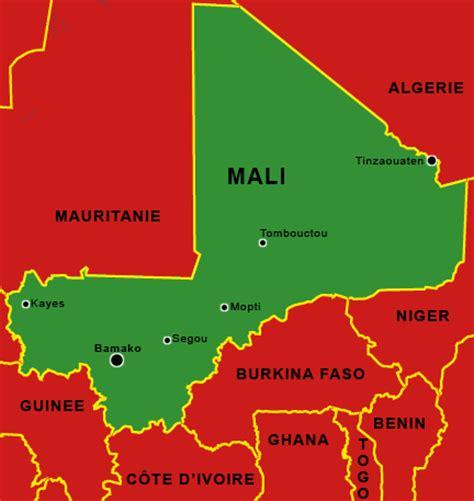 RFI - Carte du Mali