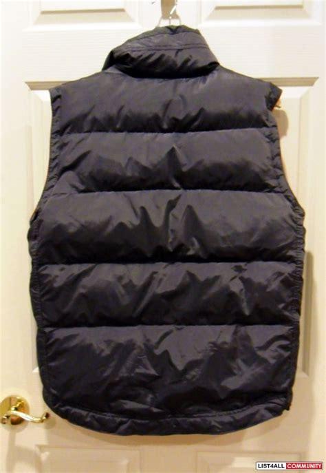 gap reversible  vest vanclothing sale listall