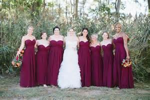 maroon bridesmaid dress bridesmaid dresses maroon gold