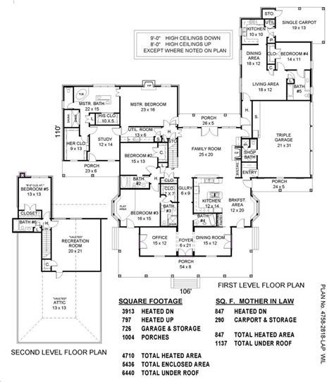 house plans with inlaw suites house plans with mother in law suites sullivan home plans june 2010 house ideas pinterest