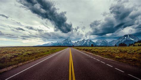 wallpaper jalan langit awan awan  rexar