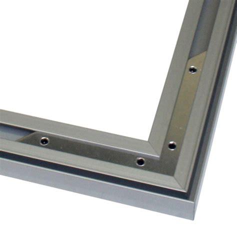 cadre en aluminium sur mesure cadre aluminium grand format pour mur d image