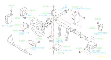 2004 Subaru Legacy Electrical Diagram by 2004 Subaru Legacy Integrated Unit Electrical Warning