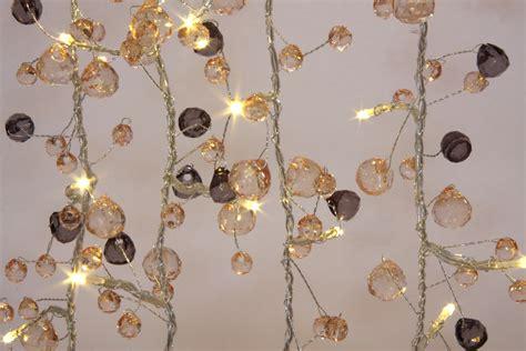 decorative string lights lights coco chic 50 led string lights mains