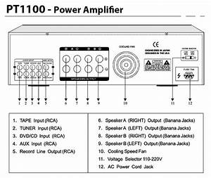 1000w 1000 Watt Home House Digital Stereo Audio Power Amp