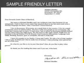 a friendly letter friendly letter 20320