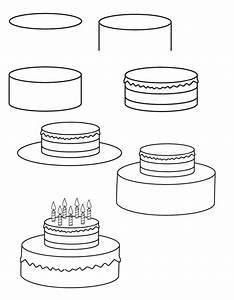 Dessin Gateau Anniversaire : dessin gateau d anniversaire ~ Melissatoandfro.com Idées de Décoration