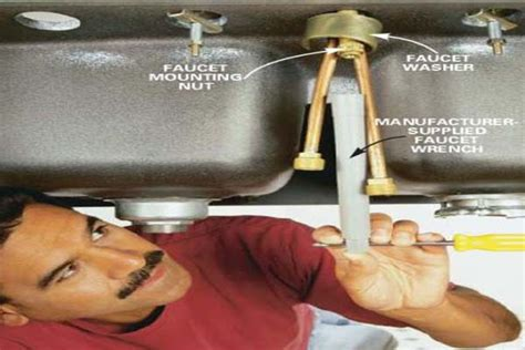 removing faucet from kitchen sink kitchen how to remove a kitchen faucetchecking the other