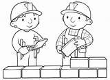 Builder Bob Coloring Printable sketch template