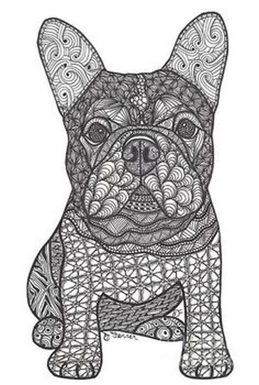 french bulldog coloring pages part