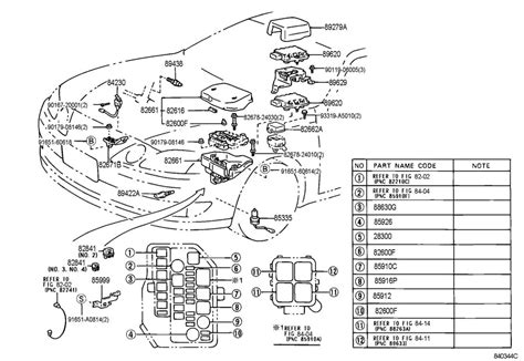 Lexu Sc400 Starter Wiring Diagram by 1999 Lexus Es300 Engine Diagram Automotive Parts Diagram