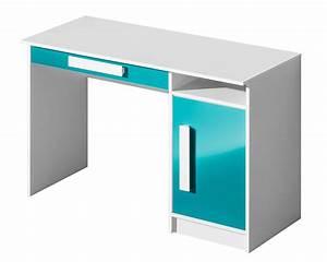Pc Tisch Groß : schreibtisch pc tisch 120cm wei hochglanz farbe der ~ Lizthompson.info Haus und Dekorationen