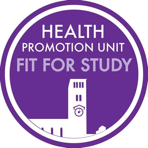 health promotion unit current students  university