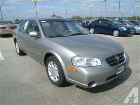 2001 nissan maxima specs 2001 nissan maxima gxe for in