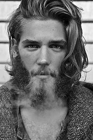 Guys with Beards and Long Hair