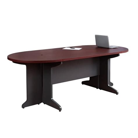 altra furniture pursuit small conference table in cherry
