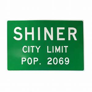 Shiner Beers Metal Signs – Shiner Store