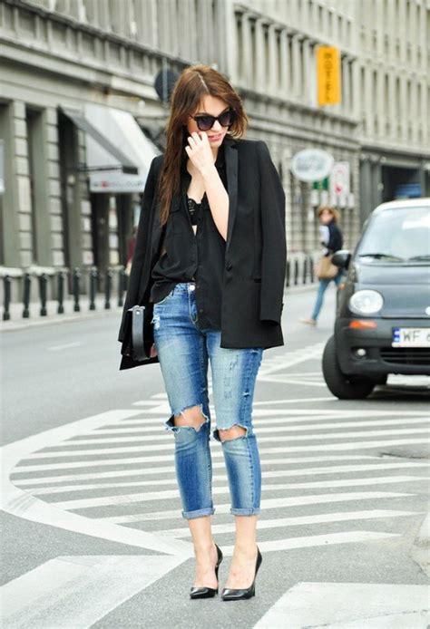 El mejor complemento para tu Outfit es el Blazer Negro   AquiModa.com vestidos de boda ...
