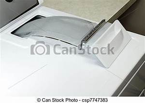 Stock Photos of Dryer Lint Trap - Dust collector pulled ...