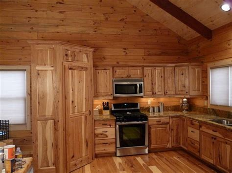 hickory hardwood floors and kitchen cabinets home