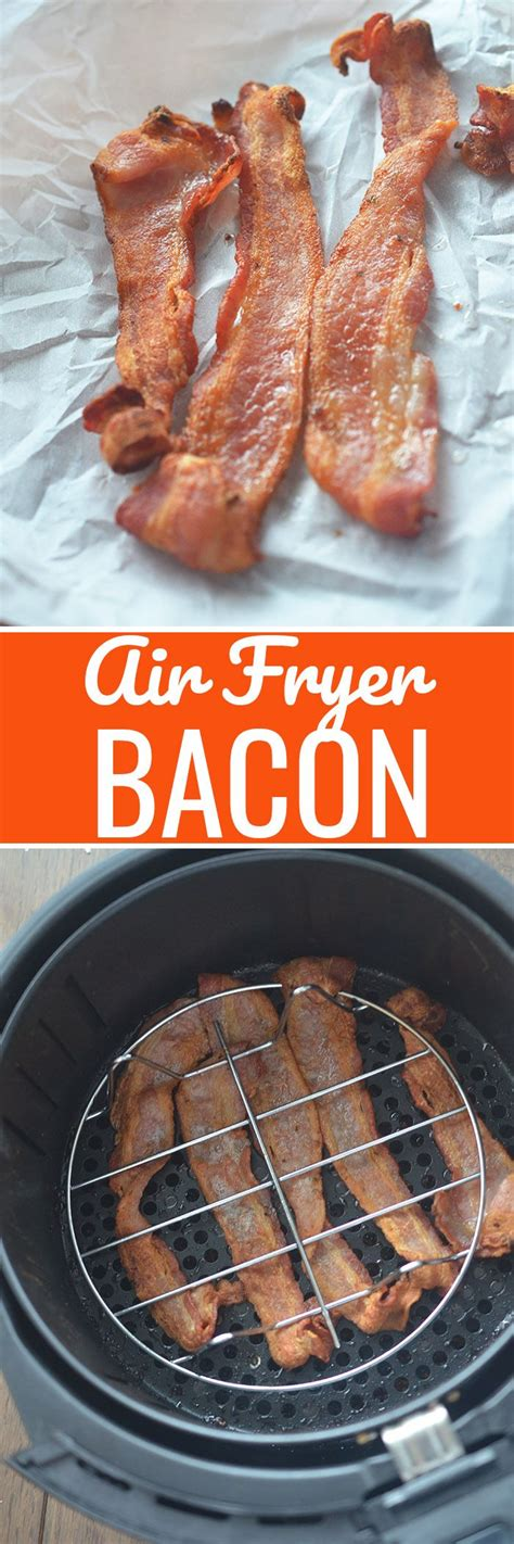 bacon fryer air recipe crispy diaries recipes oven perfectly power fry cooking airfryer perfect