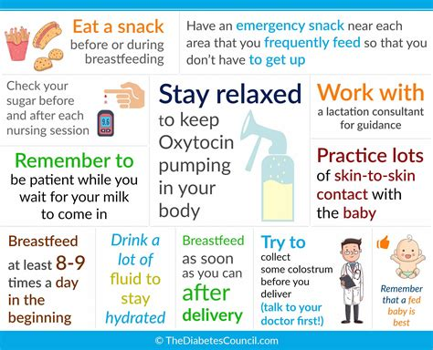 Some Tips To Make Breastfeeding With Diabetes Easier Are