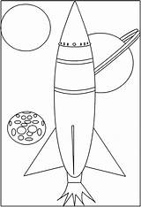 Coloring Coloriage Space Missile Fusee Colorare Disegni Dessin Dibujos Espace Shuttle Colorear Colorat Planse Bambini Spatial Vaisseau Rocket Cohetes Missili sketch template