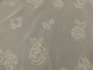 Stoff Mit Rosenmuster : voile stoff gardinenstoff dekostoff in natur mit rosenmuster 250 cm breit sch ner wohnen ~ Buech-reservation.com Haus und Dekorationen