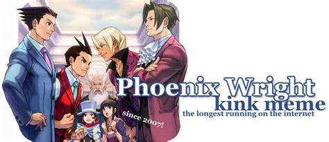 Phoenix Wright Kink Meme - phoenix wright kink meme