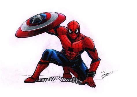 spider man captain america civil war  tontentotza