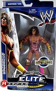 WWE Ultimate Warrior - Elite 26 Toy Wrestling Action Figure