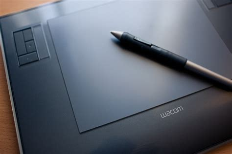wacom tablet using
