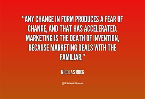 fear  change quotes quotesgram