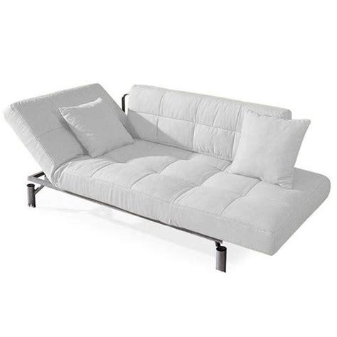 canape lit convertible design convertible design monaco blanc canap 233 lit 1 achat vente canap 233 sofa divan cdiscount