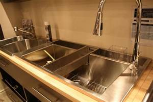 Evier Inox Professionnel : shopping viers et robinetterie pour la cuisine ~ Edinachiropracticcenter.com Idées de Décoration