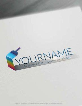 logo maker  paint brush logo design loga