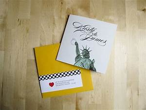 22 best images about nyc theme invites on pinterest With diy wedding invitations edinburgh
