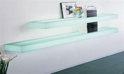 Regal Glas by Glass Wall Shelf Modern Glass Wall Shelves Modern Glass