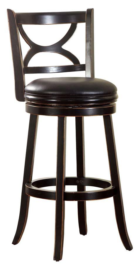vintage swivel stool warden 29 quot antique black swivel bar stool 3260
