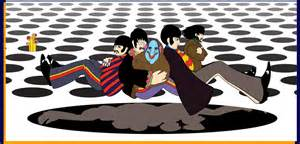 Beatles Sea Of Holes Lava L by Yellow Submarine Giclee