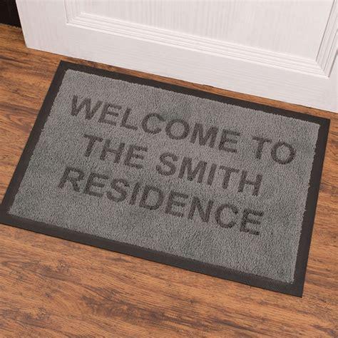 personalised doormat uk personalised indoor doormat gettingpersonal co uk