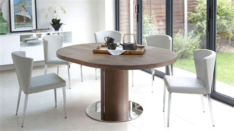 modern dining room sets uk modern walnut extending dining table and funky