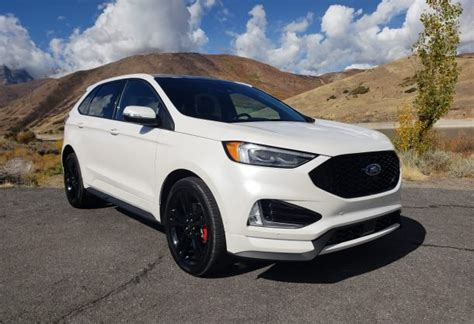 Ford Edge St Price by 2019 Ford Edge St Drive Finding The White Space