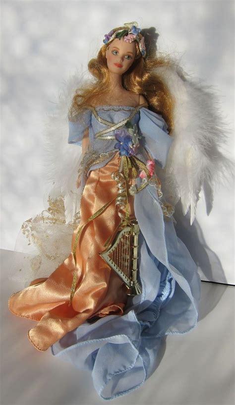 harpist angel  barbie doll barbie   barbie
